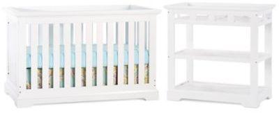 Child CraftChild CraftTM Kayden Crib Furniture Collection in Matte White