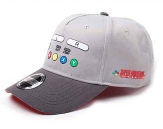 Nintendo Baseball Cap SNES Buttons new Official Curved Bill Strapback