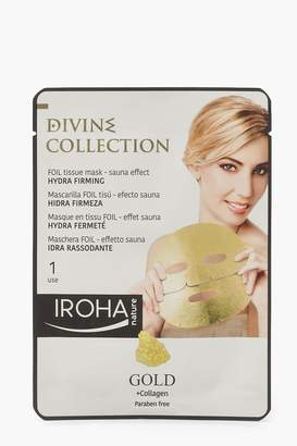 boohoo Iroha 24K Gold Firming Foil Sheet Face Mask