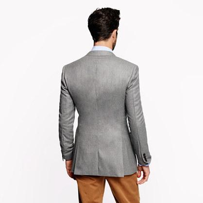 Ludlow club sportcoat in Italian wool flannel