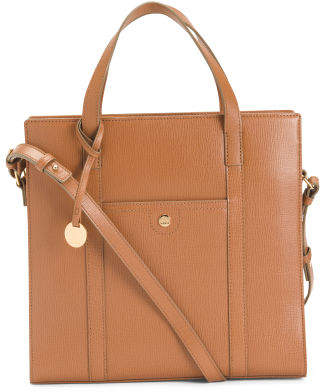 Business Chic Rfid Mali Leather Tote