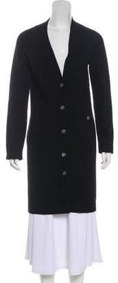 Chanel Longline Cashmere Cardigan