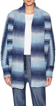 BCBGeneration Striped Shawl Cardigan