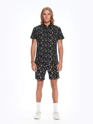Scotch & Soda Printed Short Sleeved Shirt | The Pool Side