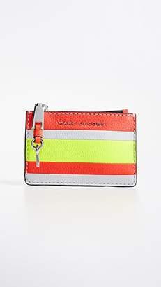 Marc Jacobs The Grind Top Zip Multi Wallet
