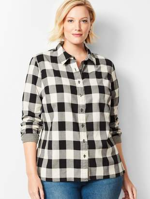 Talbots Classic Cotton Shirt - Lumberjack Check