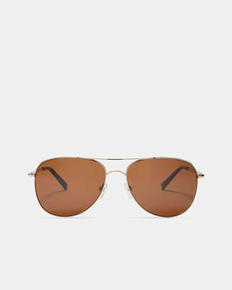 Ted Baker BENDO Rimless aviator sunglasses