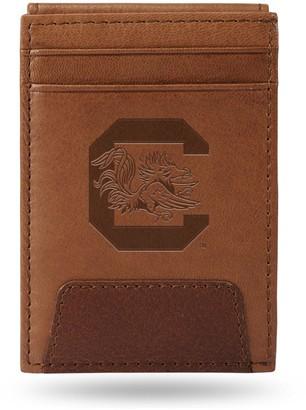 South Carolina Gamecocks Embossed Slim Leather Wallet
