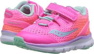 Saucony Girls' Baby Freedom ISO Sneaker