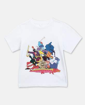 Stella McCartney Cotton T-shirt All Together Now, Unisex