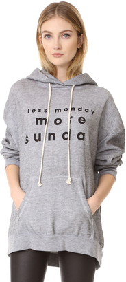 Wildfox 3 Day Weekends Hoodie $148 thestylecure.com