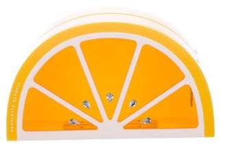Charlotte Olympia Lemon Clutch