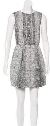 Timo Weiland Printed A-Line Dress