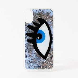GUILD PRIME (ギルド プライム) - ギルドプライム 【IPHORIA】iPhoneケース(iPhoneX対応)-BLUE EYE LIQUID CASE-