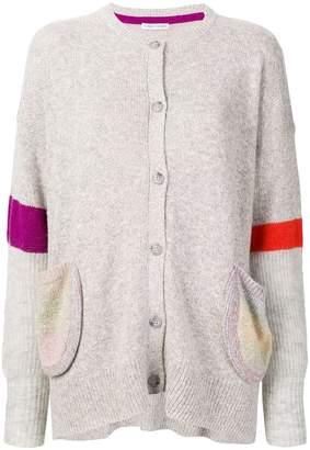 Tsumori Chisato striped sleeve cardigan