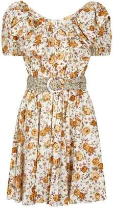 Petersyn Luisa Floral Mini Dress