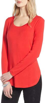 Halogen Long Sleeve Knit Tunic