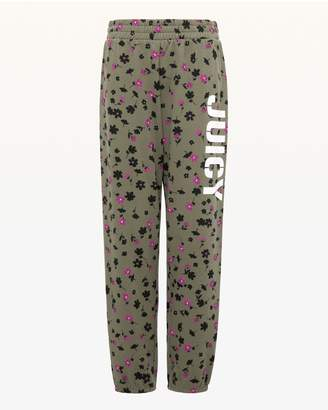 Juicy Couture JXJC Stenciled Juicy Print Pant