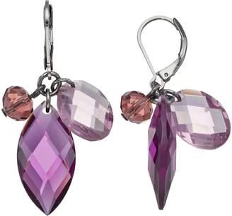 Vera Wang Simply Vera Stone Cluster Nickel Free Drop Earrings