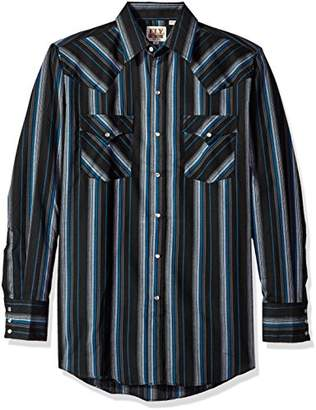 Ely & Walker Men's Long Sleeve Stripe Western Shirt