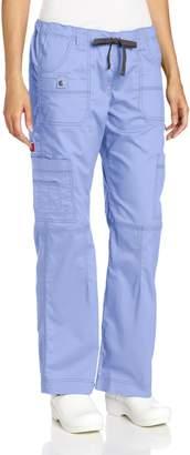 Dickies Scrubs Women's Gen Flex Junior Fit Contrast Stitch Cargo Pant (Size 2X-5X)