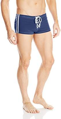 Sauvage Men's Football Sidestripe Lace Up Short