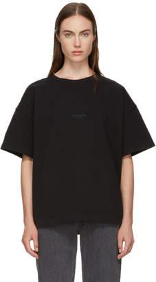 Acne Studios (アクネ ストゥディオズ) - Acne Studios ブラック Stellie ロゴ T シャツ