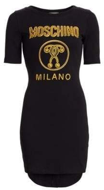 Moschino Graphic Logo Tee Dress
