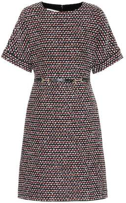 Gucci Sequined tweed dress
