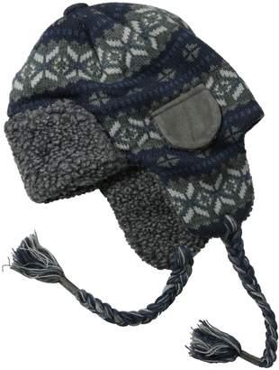 Muk Luks Men's Fairisle Trapper Hat