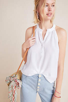 Cloth & Stone Henley Halter Top