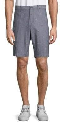 Original Penguin Argyle-Print Cotton Shorts