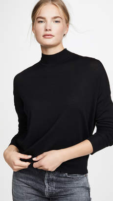 ATM Anthony Thomas Melillo Merino Mock Neck Sweater
