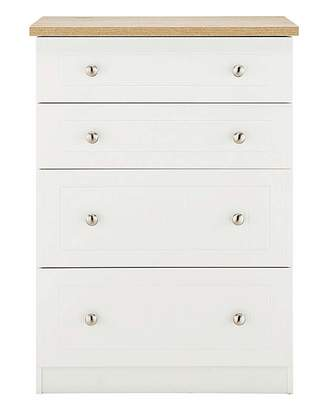 Fashion World Clovelley 4 Drawer Deep Chest
