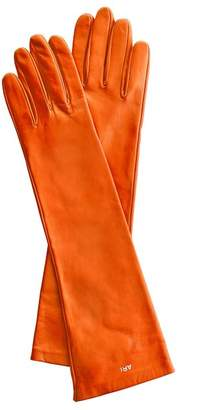 Mark And Graham Women's Italian Leather Opera Gloves, Bright-Toned
