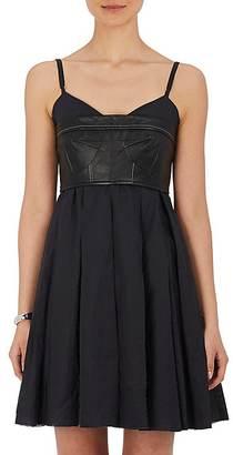 Calvin Klein Women's Strapless Lambskin Bustier $595 thestylecure.com