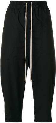 Rick Owens drawstring cropped trousers