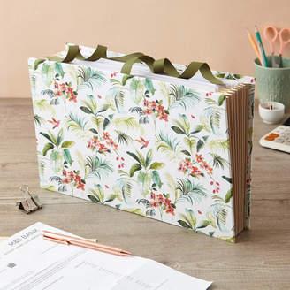 Kew Harris & Jones Organiser File Floral