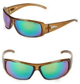 Revo 66MM Wrap Sunglasses