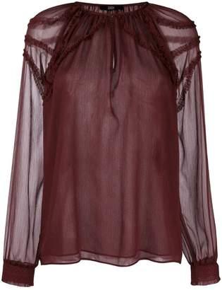 Steffen Schraut ruffle detail blouse