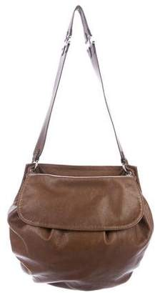 Marni Leather Flap Hobo