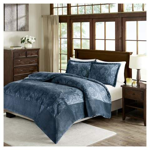 Trenton Textured Plush Comforter Mini Set