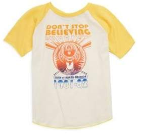 Rowdy Sprout Baby's, Toddler's, Little Boy's & Boy's Don't Stop Believing Top