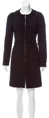 Andrew Gn Textured Knee-Length Coat