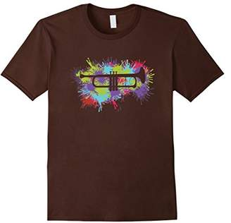 Colorful Trumpet Jazz Lovers T-Shirt