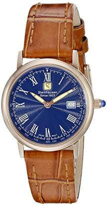 BEIGE Steinhausen Women's WWL493RGUTA Dunn Luxe Analog Display Swiss Quartz Watch