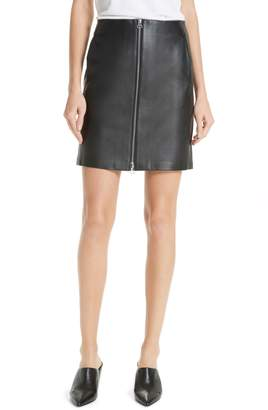 Rag & Bone JEAN Heidi Leather Skirt