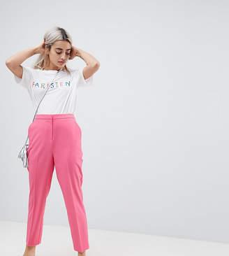 Asos Cigarette PANTS in Pop Pink