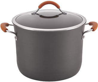 Rachael Ray Cucina 10-qt. Hard-Anodized Covered Stock Pot