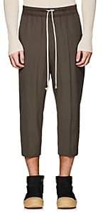 Rick Owens Men's Astaire Drop-Rise Trousers-Dark Gray